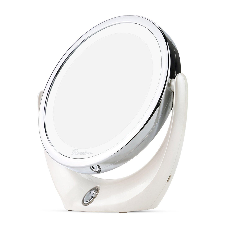BROADCARE Espejo de Maquillaje con Luces